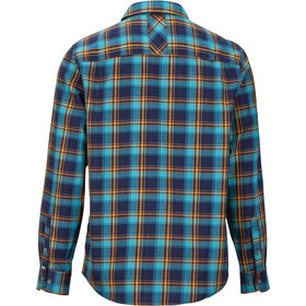Marmot Anderson Lightweight Flannel Langarm Shirt Herren arctic navy